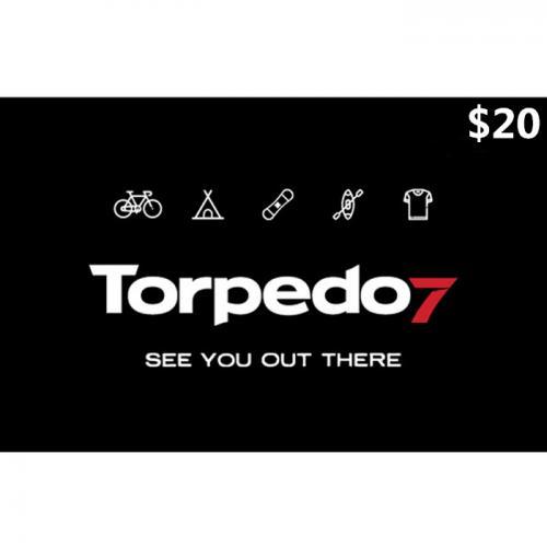 Torpedo7 Physical Gift Card $20 NZD 预付充值礼品卡,物理卡需快递,闪电发货!