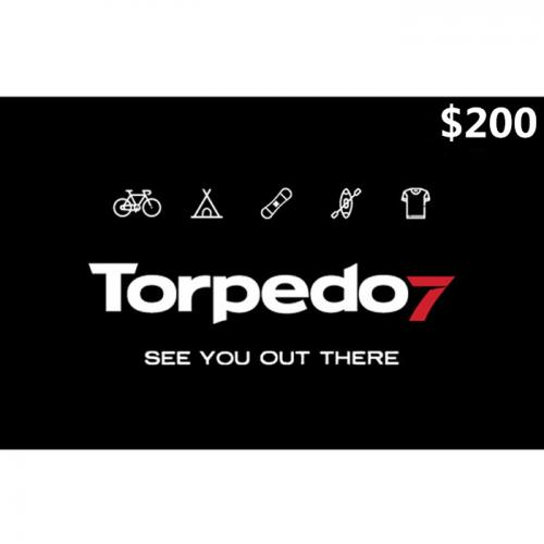 Torpedo7 Physical Gift Card $200 NZD 预付充值礼品卡,物理卡需快递,闪电发货!