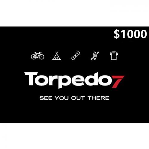 Torpedo7 Physical Gift Card $1000 NZD 预付充值礼品卡,物理卡需快递,闪电发货!