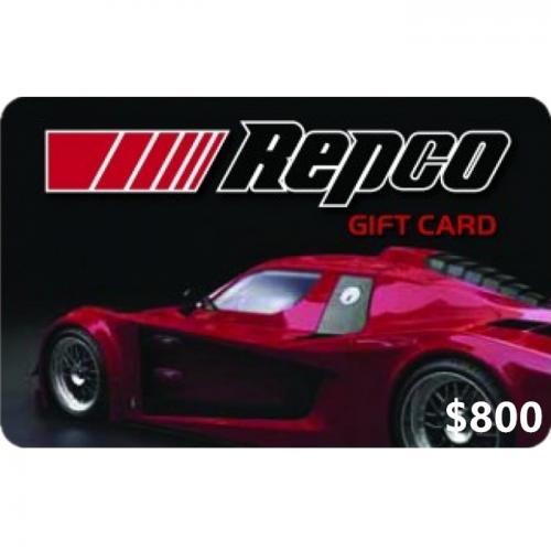 Repco Physical Gift Card $800 NZD 预付充值礼品卡,物理卡需快递,闪电发货!