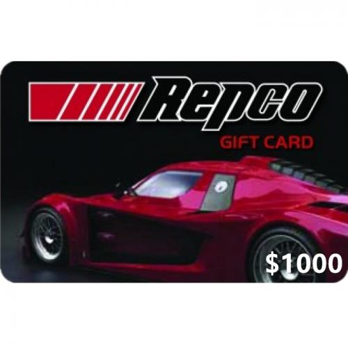 Repco Physical Gift Card $1000 NZD 预付充值礼品卡,物理卡需快递,闪电发货!