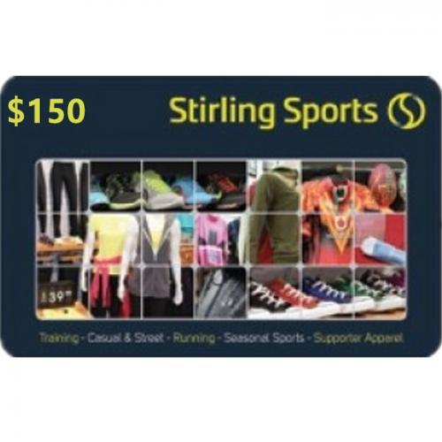 Stirling Sports Physical Gift Card $150 NZD 预付充值礼品卡,物理卡需快递,闪电发货!