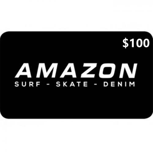 Amazon Surf Physical Gift Card $100 NZD 预付充值礼品卡,物理卡需快递,闪电发货!
