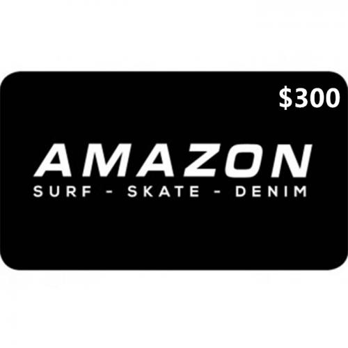 Amazon Surf Physical Gift Card $300 NZD 预付充值礼品卡,物理卡需快递,闪电发货!