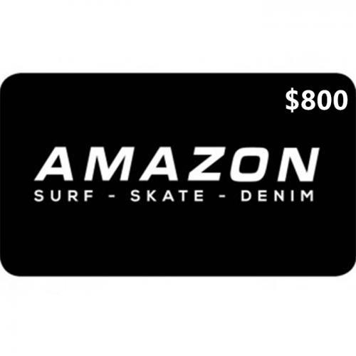 Amazon Surf Physical Gift Card $800 NZD 预付充值礼品卡,物理卡需快递,闪电发货!