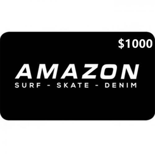 Amazon Surf Physical Gift Card $1000 NZD 预付充值礼品卡,物理卡需快递,闪电发货!