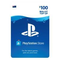 Sony PlayStation Store Digital Gift Card $100 NZD 预付充值礼品卡,虚拟卡免快递,E-Mail邮件秒收货!