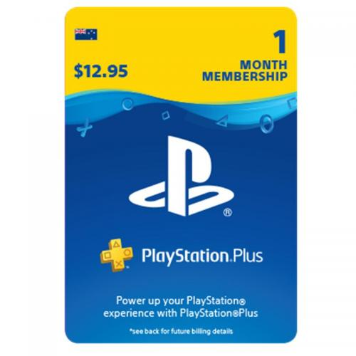 PlayStation Plus 1 Month Membership Digital Gift Card 1个月订阅/包月数字充值礼品卡,虚拟卡免快递,E-Mail邮件秒收货!