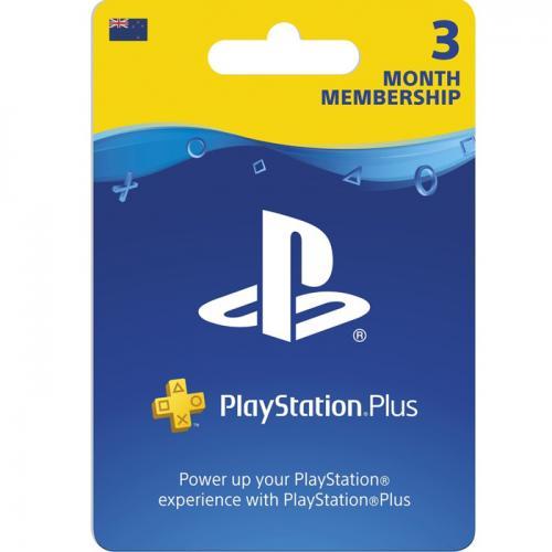 PlayStation Plus 3 Month Membership Digital Gift Card 3个月订阅/包月数字充值礼品卡,虚拟卡免快递,E-Mail邮件秒收货!