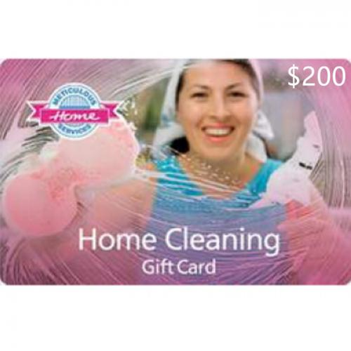 Meticulous Maids Home Services Physical Gift Card $200 NZD 预付充值礼品卡,物理卡需快递,闪电发货!