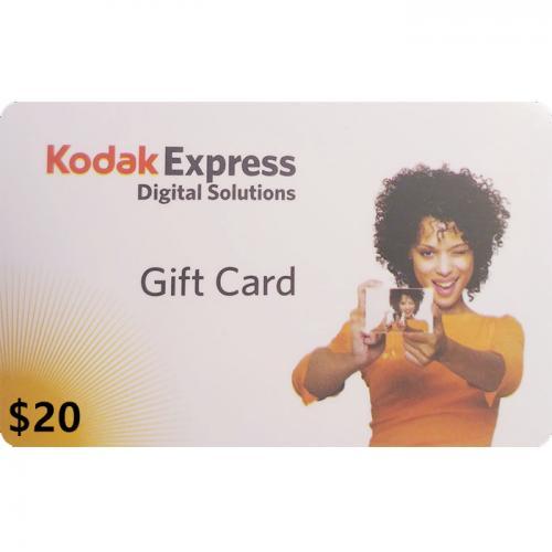 Kodak Express Physical Gift Card $20 NZD 预付充值礼品卡,物理卡需快递,闪电发货!