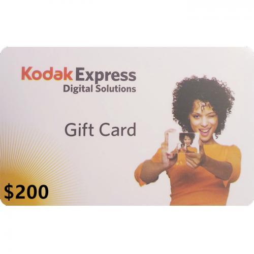 Kodak Express Physical Gift Card $200 NZD 预付充值礼品卡,物理卡需快递,闪电发货!