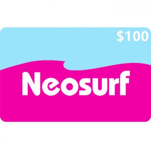 Neosurf Digital Prepaid Gift Card $100 NZD 数字预付充值礼品卡,虚拟卡免快递,E-Mail邮件秒收货!