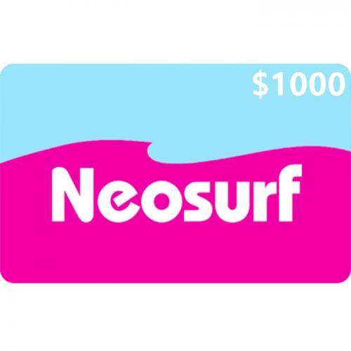 Neosurf Digital Prepaid Gift Card $1,000 NZD 数字预付充值礼品卡,虚拟卡免快递,E-Mail邮件秒收货!